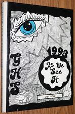 YEARBOOK - Glencoe High School AL - 1993 Vespa Yellow Jackets Alabama