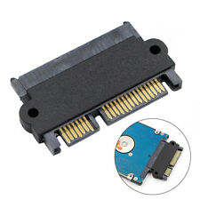 HN- DV_ 7 + 15Pin Male to Female Copper Core SATA Laptop Hard Drive Connector Ad