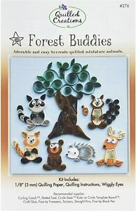 Forest Buddies Quilling Kit - Quilled Creations - Brand New