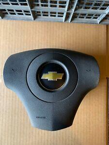2010 2011 2012 CHEVROLET MALIBU DRIVER AIRBAG OEM BLACK STEERING WHEEL
