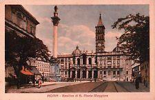 CARTOLINA DI ROMA BASILICA DI S. MARIA MAGGIORE PER ONZO 1929  C10-764