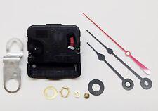 """Takane Clock Movement Quartz Battery NEW Short Shaft 1/4"""" Thick Dial SPADE HANDS"""