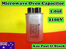 Microwave Oven Spare Parts High Voltage Capacitor 1.0uF 2100VAC (C216)