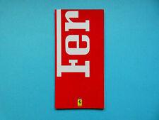 Prospekt / Katalog / Brochure Ferrari F355, 348 Spider, F512M, 456 GT  09/94
