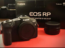 Canon EOS RP + Mount adapter EF