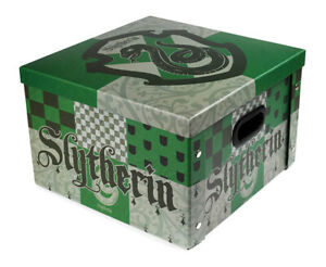 HARRY POTTER SLYTHERIN CREST STORAGE BOX - OFFICIAL GIFT