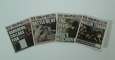 1/6 Scale Newspapers New York Bulletin 4 Pack for Daredevil and Avengers Marvel