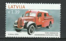 Latvia 2019 Cars, Ford MNH stamp