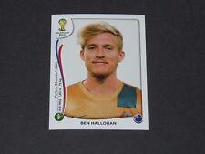 181 HALLORAN DÜSSELDORF AUSTRALIA PANINI FOOTBALL FIFA WORLD CUP 2014 BRASIL