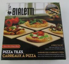 "Bialetti 4 Piece Pizza Tiles Set 7.5"" x 7.5"""