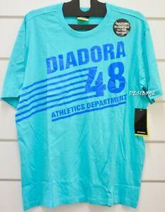 NWT - Diadora  T-Shirt Mens Graphic Logo Tee - Size: Large