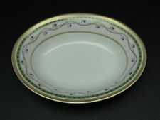 Faberge Luxembourg-Green Oval Vegetable Bowl / Excellent