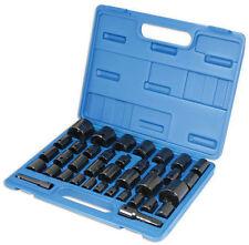 BRAND NEW LASER TOOLS AIR IMPACT Socket Set Metric AF 3/8 1/2 Drive