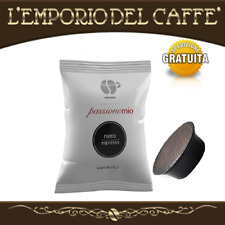 LOLLO CAFFE' PASSIONEMIO 400 CAPSULE  ESPRESSO NERO COMPATIBILE A MODO MIO