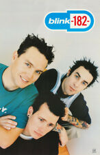 POSTER : MUSIC : BLINK - 182 - ALL 3 POSED  -  FREE SHIPPING !   #6531    LP38 J