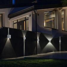 Muro LED Giardino Esterno Lampada Spot acciaio inox illuminazione VERANDA Corte strada