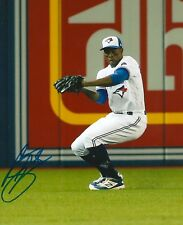 CURTIS GRANDERSON signed 8x10 photo TORONTO BLUE JAYS WITH COA C