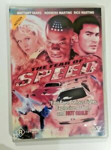 The Fear of Speed (DVD, 2002) B-GRADE NEED FOR SPEED TAKE OFF/ AUS R4