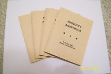 """NARCOTICS ANONYMOUS """"BUFF BOOK"""" REPLICA (NOW WITH ALL BUFF PAPER LIKE ORIGINAL)"""