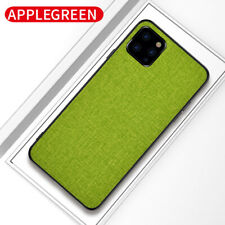 Para iPhone 12 Mini 12 Pro Max 11 XS Xr X 8 7 6 Plus Funda para Estuche Rígido De Tela De Paño