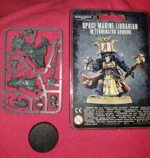 Space Marine Librarian in Terminator Armour Warhammer 40K