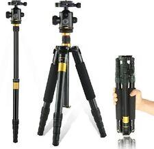 Q666 Portable Collapsible Travel Camera Tripod Monopod NIKON CANON SONY Dslrs