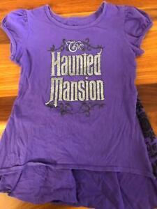 Disneyland Parks Resort Haunted Mansion tee shirt Sz M  (kids 8-10)
