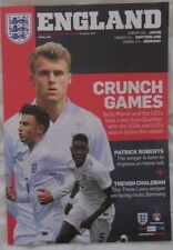 Away Teams C-E England Football Programmes with Match Ticket