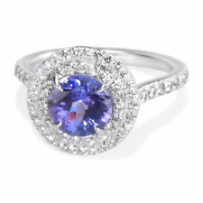 Tiffany & Co. Soleste Tanzanite Engagement Ring in Platinum 1.75 ctw