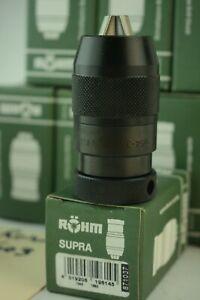 Rohm 871037 136 Supra 10S Keyless Drill Chuck, J1 Mount