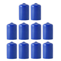 10 Pieces Durable Pool Cue Protector Billiards Accessories for Snooker Blue