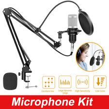 BIUBLE BM800 Kondensator Mikrofon set Professionell Komplett Set für Studio
