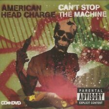American Head Charge - Can't Stop the Machine (CD + DVD 2007) NEW/SEALED