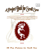 A Project Book for Scroll Saw- 20 Fun Patterns from OTB Patterns.