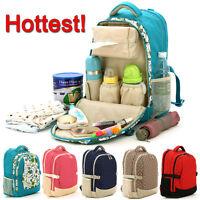 Baby Diaper Handbag  Nappy Changing Mother Mummy Women Pad Backpack Shoulder Bag