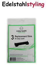 Easy Sushi Maker 3er-Set Ersatzfolien