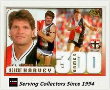 Select AFL 300 Game Case Card: 2005 Dynasty CC15 Robert Harvey (St. Kilda)