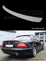 00-06 UNPAINTED PRIMED MERCEDES BENZ CL W215 LO TYPE TRUNK BOOT SPOILER WING