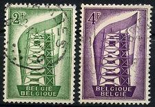 Belgium 1956 SG#1582-3 Europa Used Set #D53214