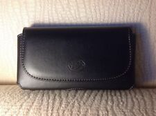 """(Cellphone Size 6.5""""x3.5""""x0.6"""") XX Large Big Leather Case Pouch"""