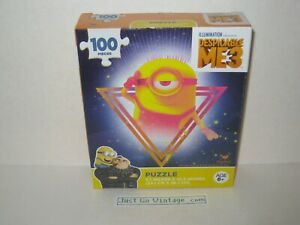 """Despicable Me 3 Minion Puzzle 100 Pieces Size: 9.1""""x10.3"""" inches NEW, SEALED BOX"""