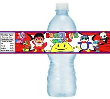 12 Ryan's World Birthday Party Water Bottle Stickers Labels Supplies Favors