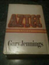 1980 AZTEC Hardcover Book Club Edition DJ Dust Jacket 761 White Pages Jennings