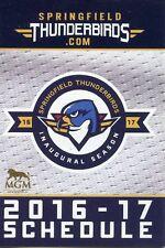 Springfield Thunderbirds Ahl Hockey 2016-17 Schedule Florida Panthers inaugural