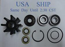 Repair kit for Mercruiser Bravo Raw Water Pump 46-807151A9 807151A12 W/ Impeller
