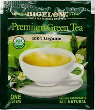 Bigelow Classic Green Tea 100% USDA Organic Individually Packed Tea Bags Chinese