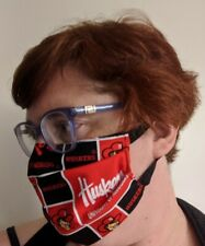 University of Nebraska Face Mask - All Sizes - Huskers - Handmade