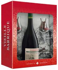 (58,64€/l) Fassbind Vieille Poire alte Birne in GP mit 2 Gläsern 40% 0,7l Flasch