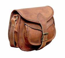 Genuine Handmade Real Leather Womens Shoulder Satchel Handbag Messenger Hobo Bag