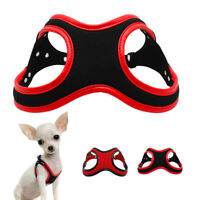 Soft Suede Glasses Style Small Dog Harness Pet Puppy Cat Vest Chihuahua Yorkie